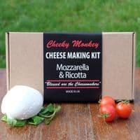 Big Cheese Making Kit - Mozzarella and Ricotta